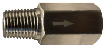 Aluminum MIP x FIP Anti-Siphon Valve