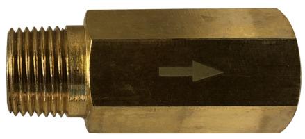 Brass and Aluminum M X F Anti-Siphon Marine Valves