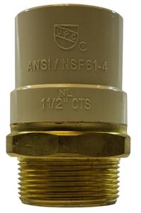 LF Brass CPVC Male Adapter