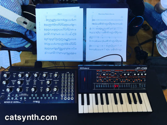 Mother 32 and Roland JP-08