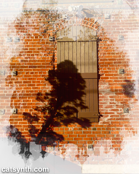 Wordless Wednesday: Shadow and Brick