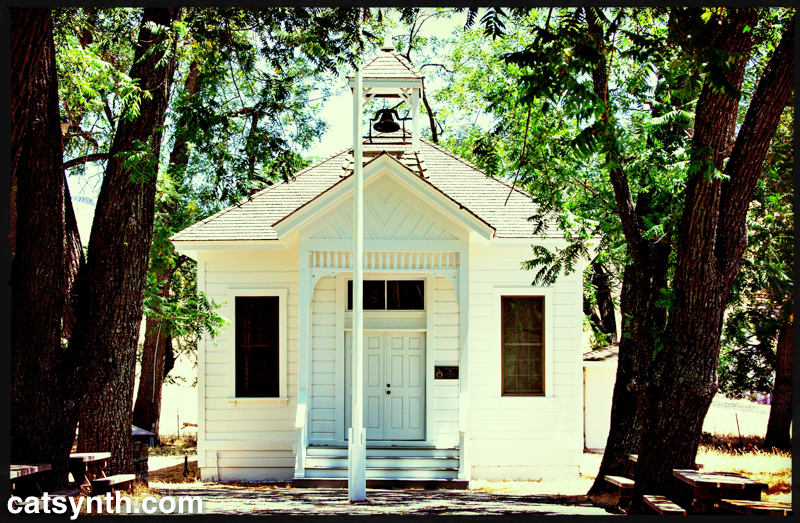 Wordless Wednesday: Tassajara Schoolhouse