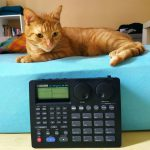 CatSynth Pic: Pisze and Boss DR-660