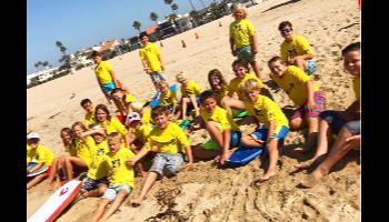 Beach Sports Week of Camp