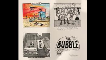 The Bubble Custom Signed Art