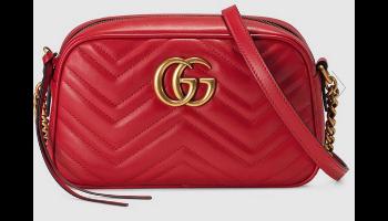 Gucci Marmont Matelassé Bag