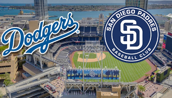 Dodgers vs Padres (two tickets)
