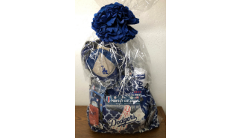 Ultimate Dodgers Fan Basket