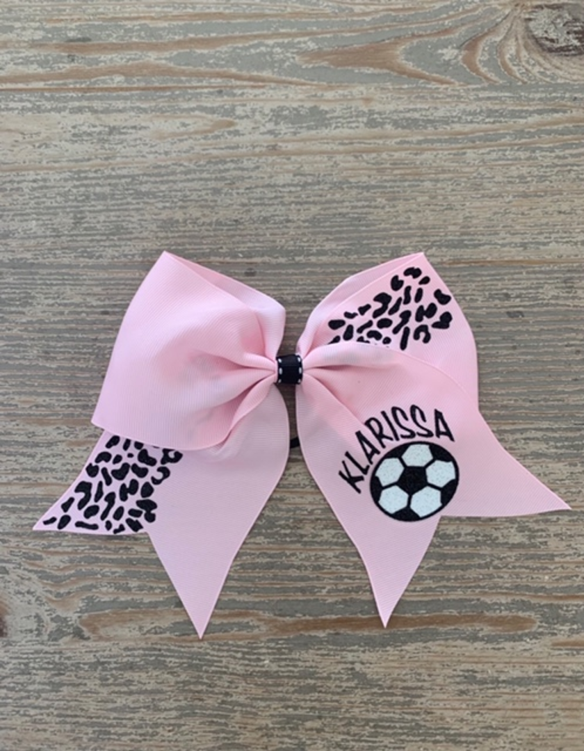 Personalized Sports Team Bows