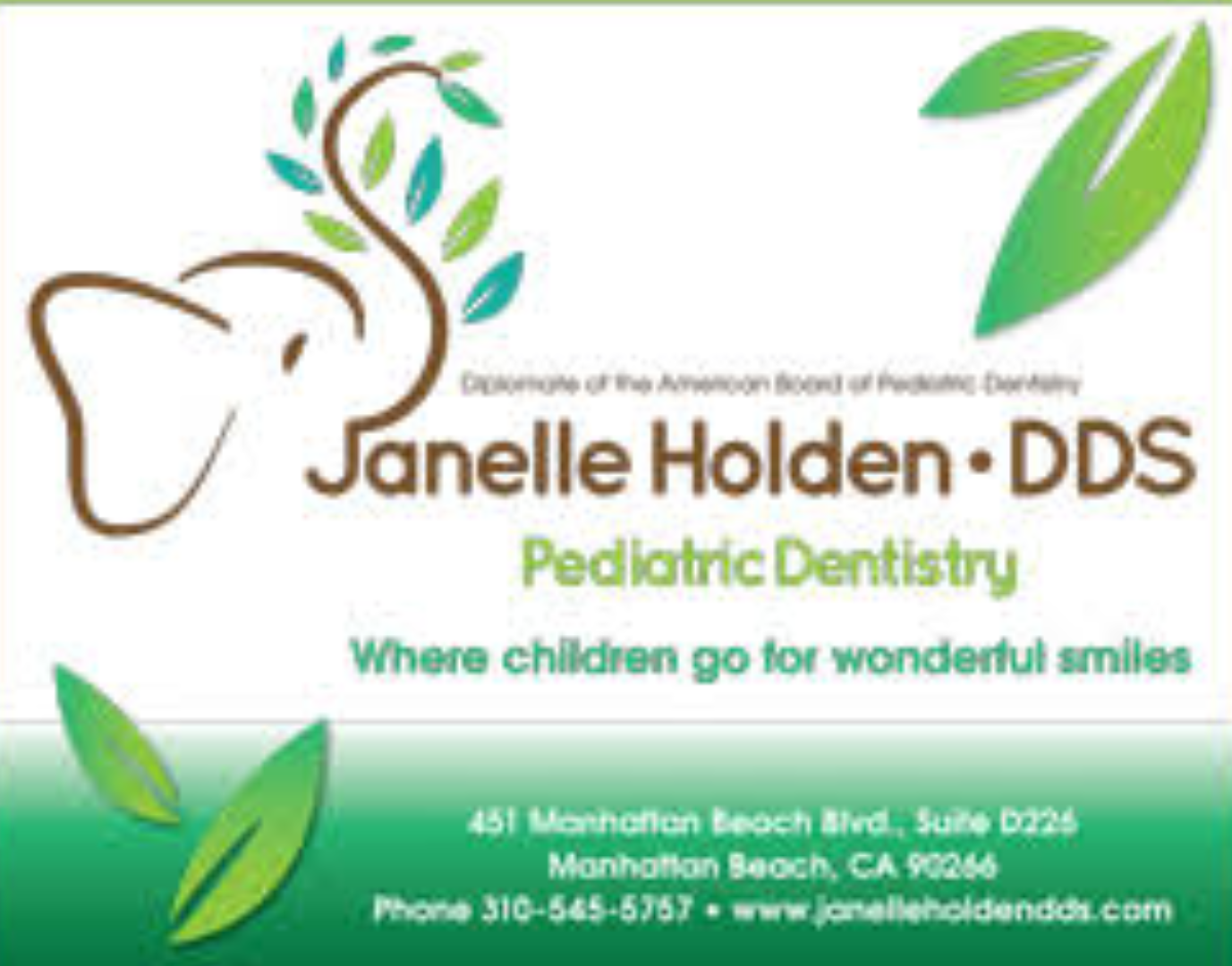 Dental exam, cleaning and Oral B electric toothbrush from Dr. Janelle Holden