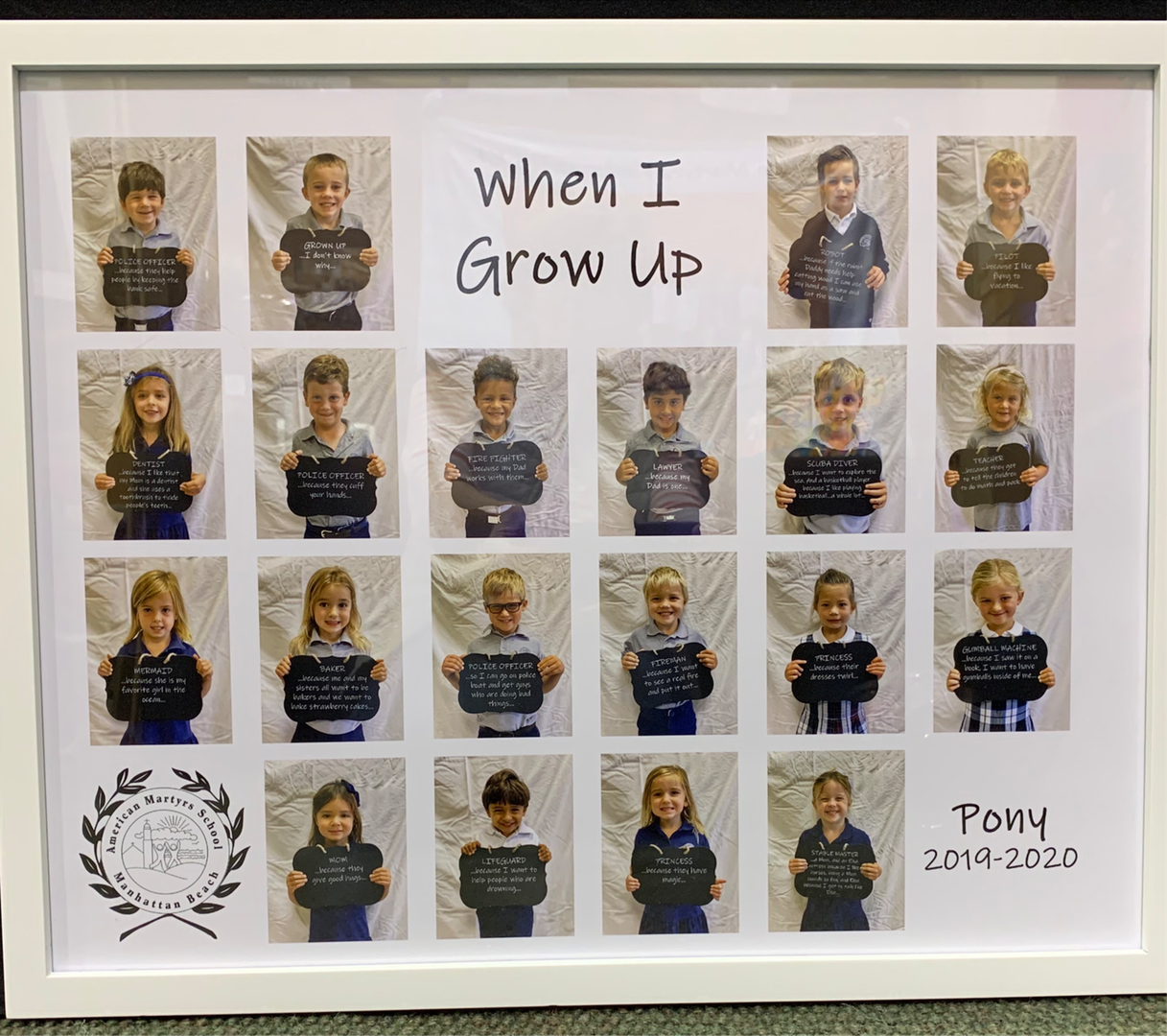 PONY Class Gift