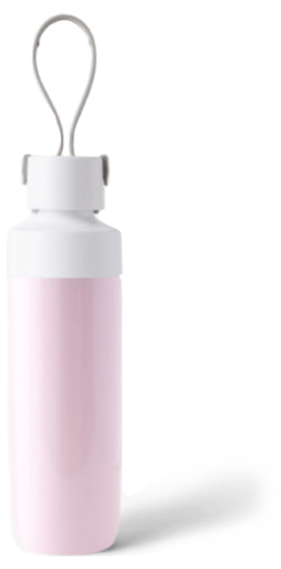 Reusable Water Bottle in Petal Pink