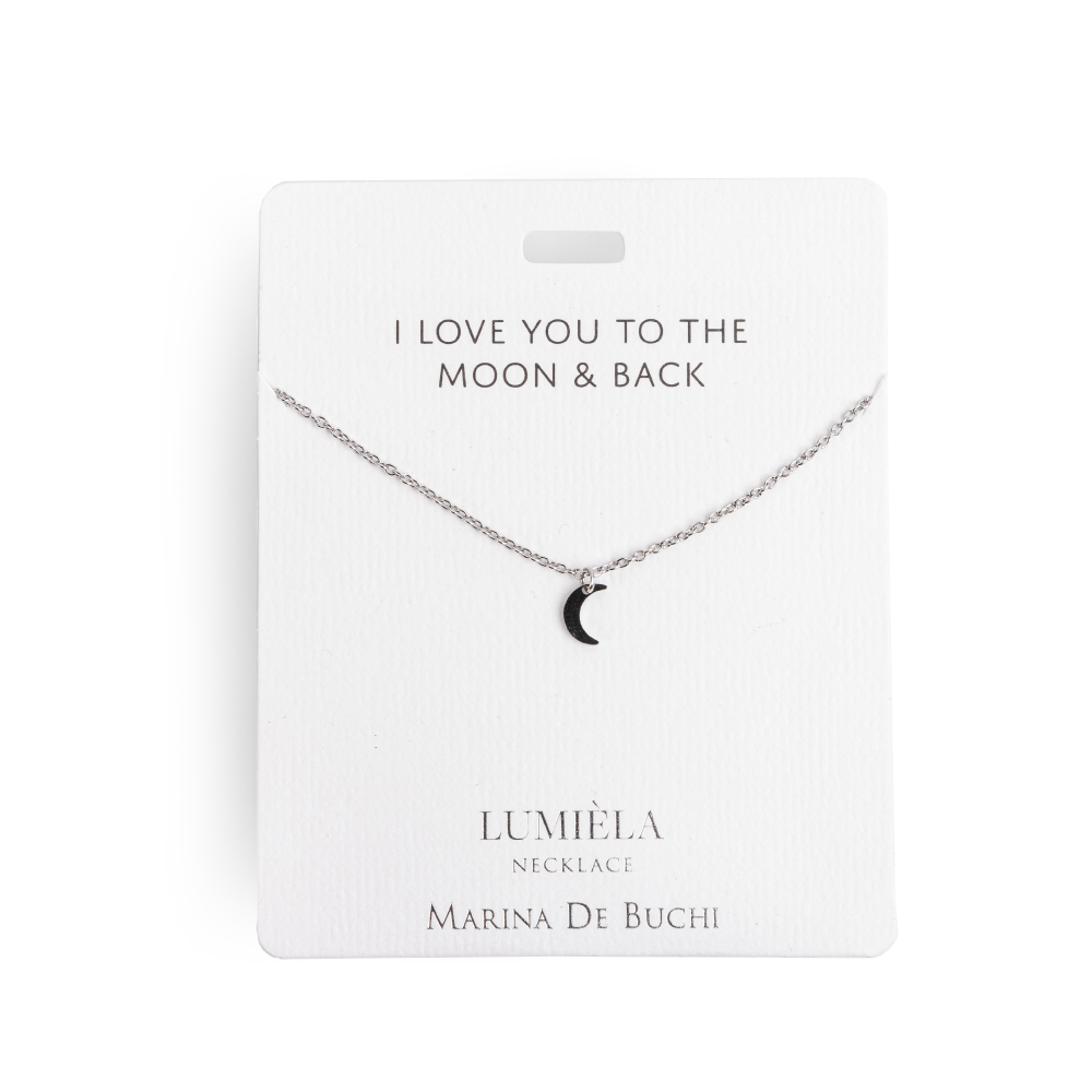 Lumièla Necklace in Silver Moon