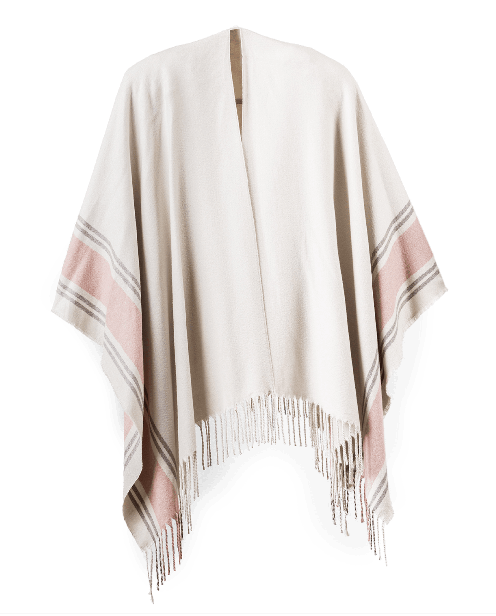 Poncho Wrap in Cream