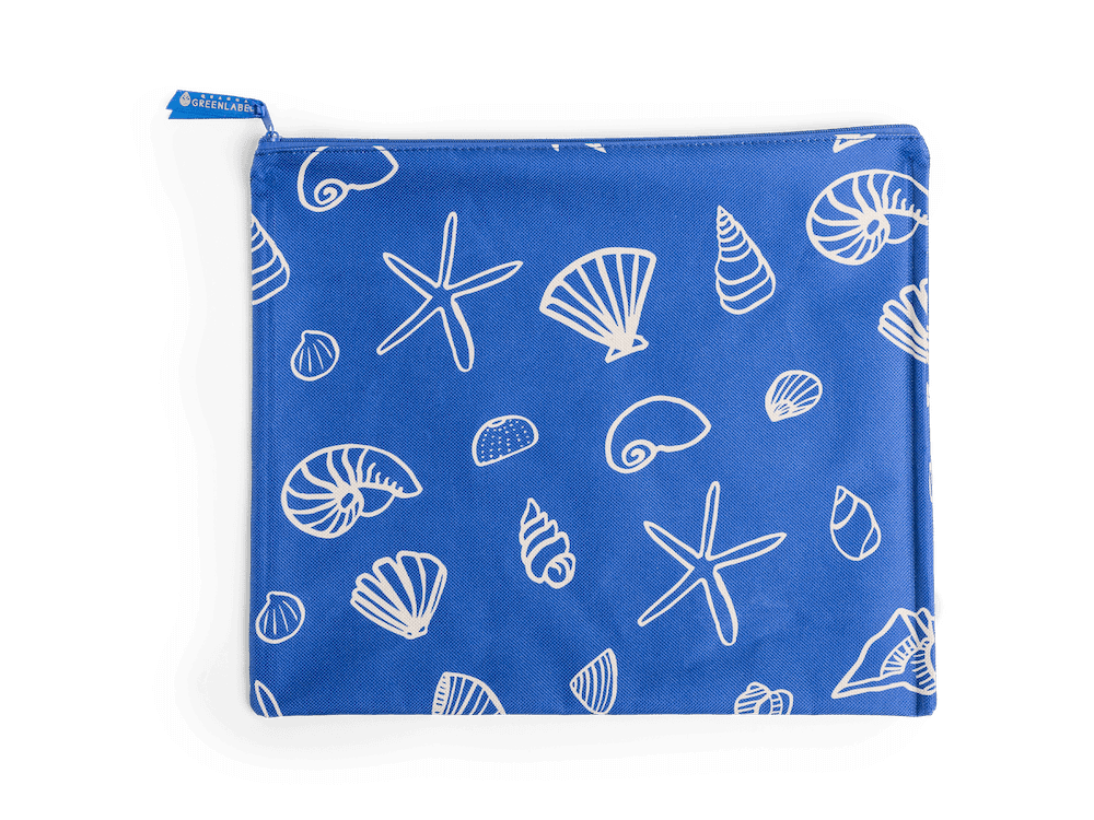 Wet Swim Pouch in Seashells