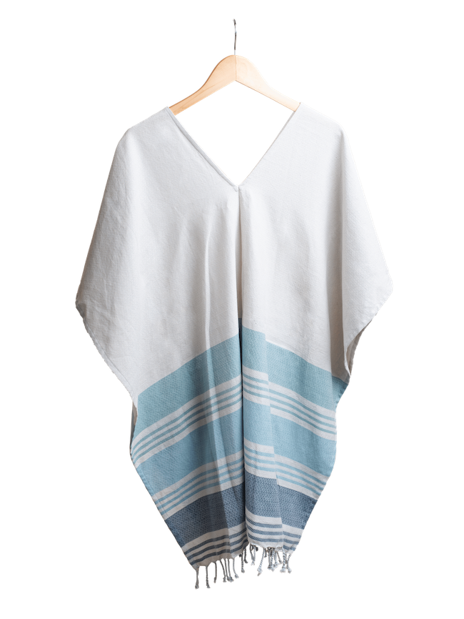 Caftan Coverup in Seafoam