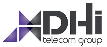 DHI Telecom company logo