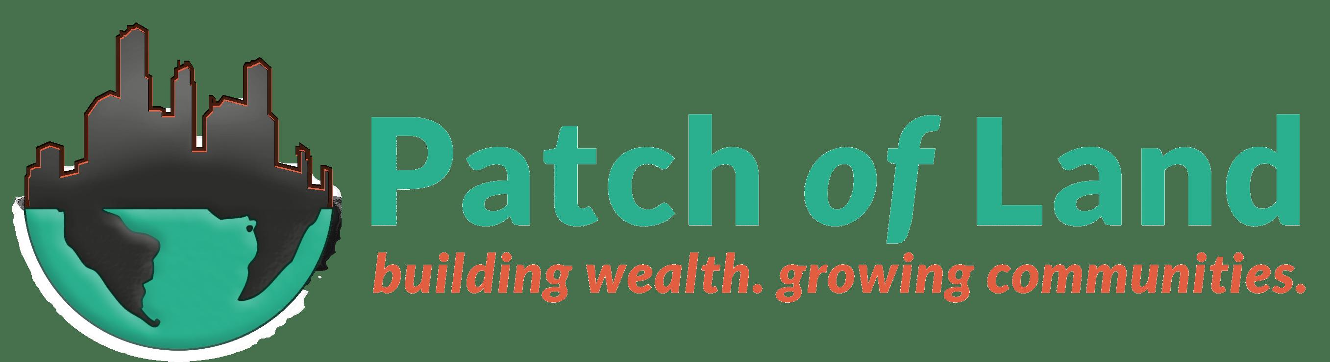 Patch of Land company logo