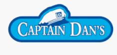 Captain Dan's Seafood company logo