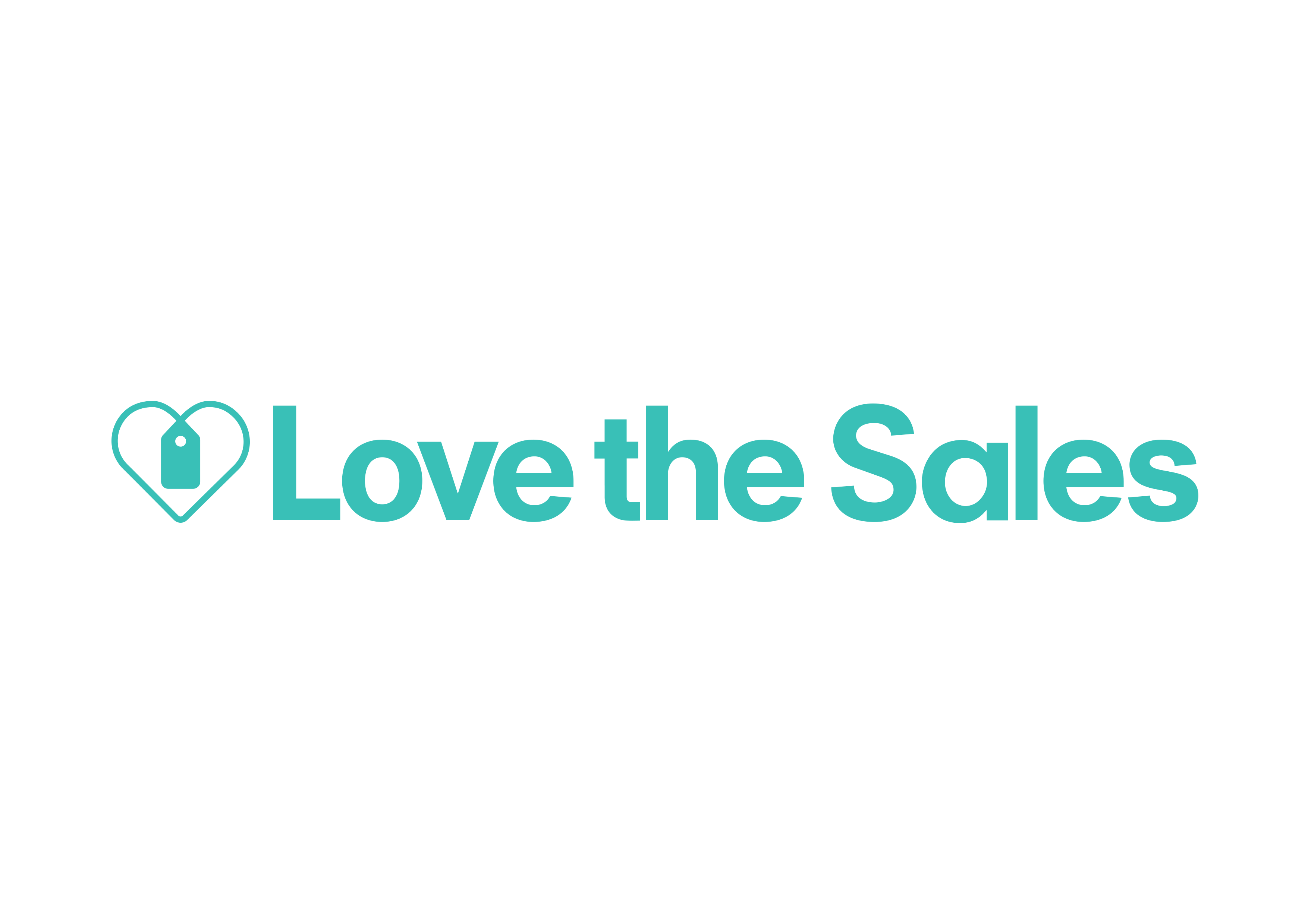 Love the Sales company logo