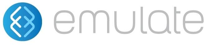 Emulate company logo