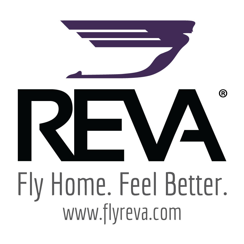 REVA Air Amublance company logo