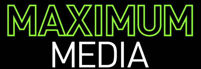 Maximum Media company logo