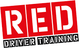 RED Driving School company logo