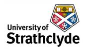 University of Strathclyde company logo