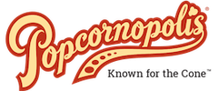 Popcornopolis company logo