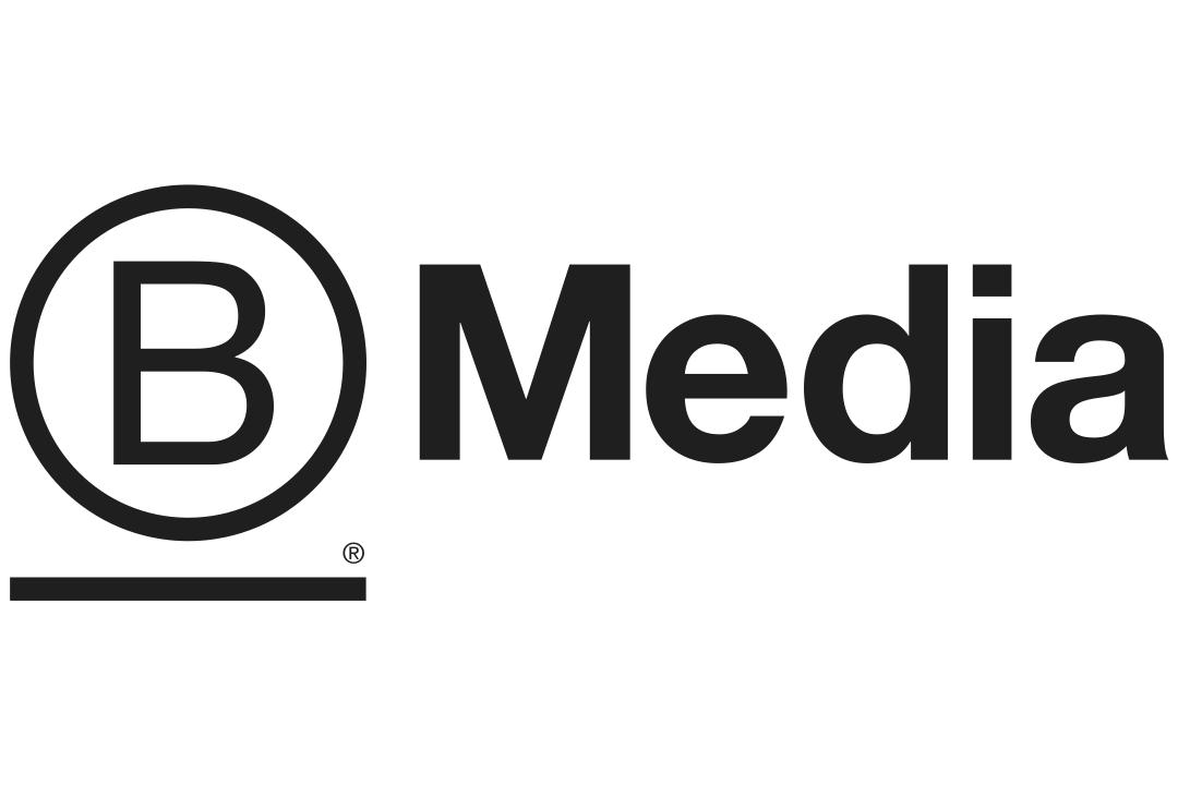 B the Change Media company logo