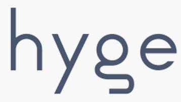 Hyge company logo