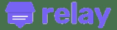 Relay company logo