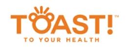 Toast! company logo