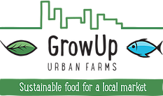 GrowUp Urban Farms company logo