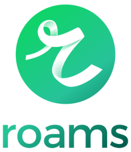 Roams company logo