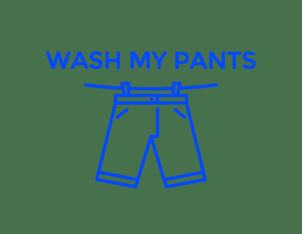 Wash My Pants company logo
