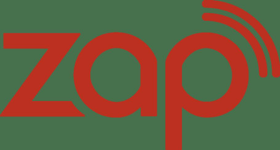 ZAP company logo