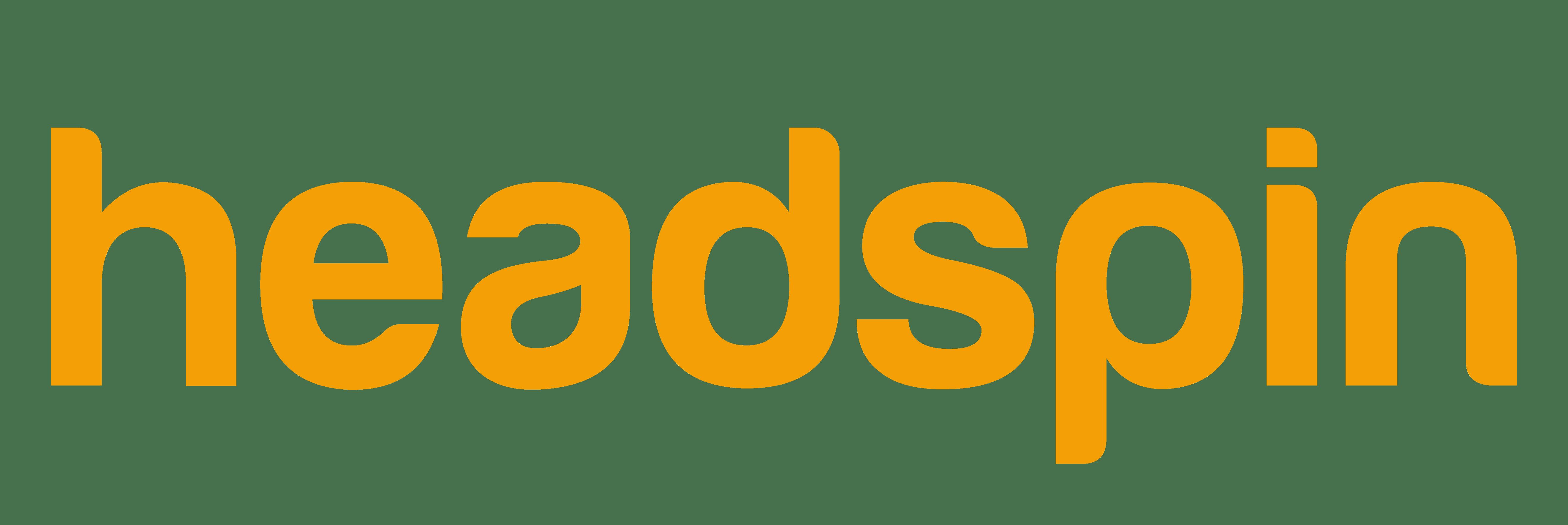 HeadSpin company logo