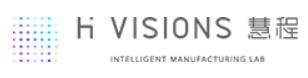 H VISIONS company logo