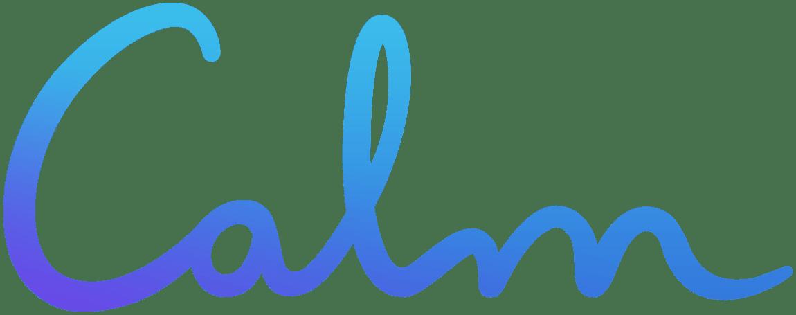 Calm company logo