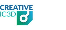 Creative IC3D company logo