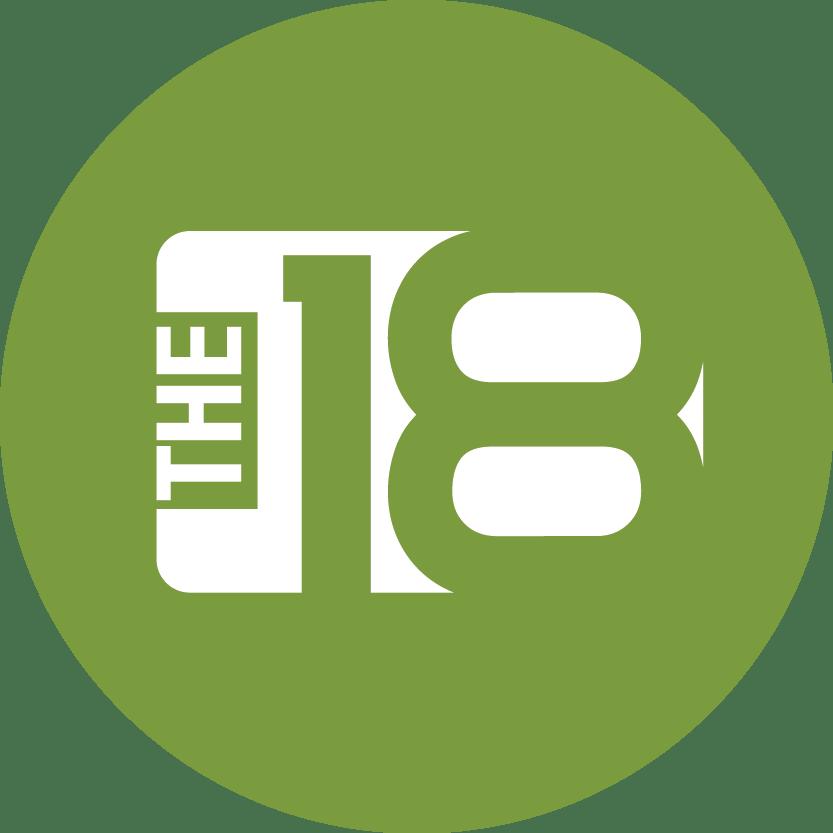 The18 company logo