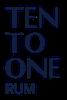 Ten to One Rum company logo
