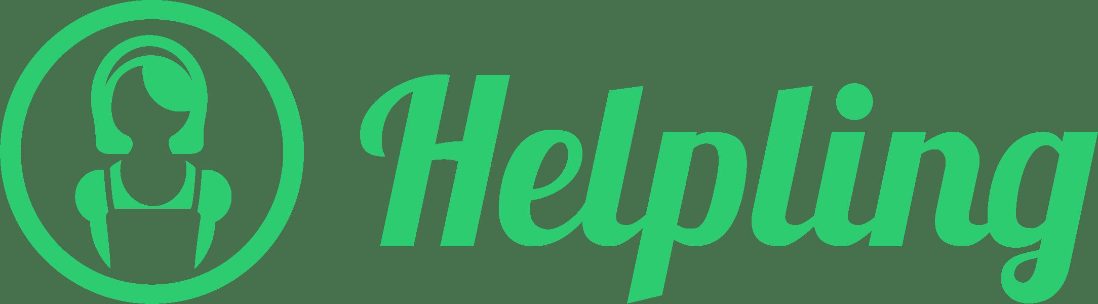 Helpling company logo