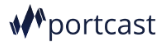 Portcast company logo