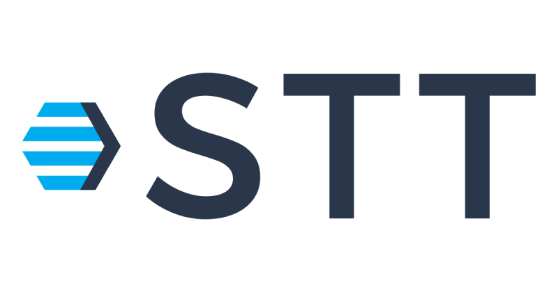 STT company logo