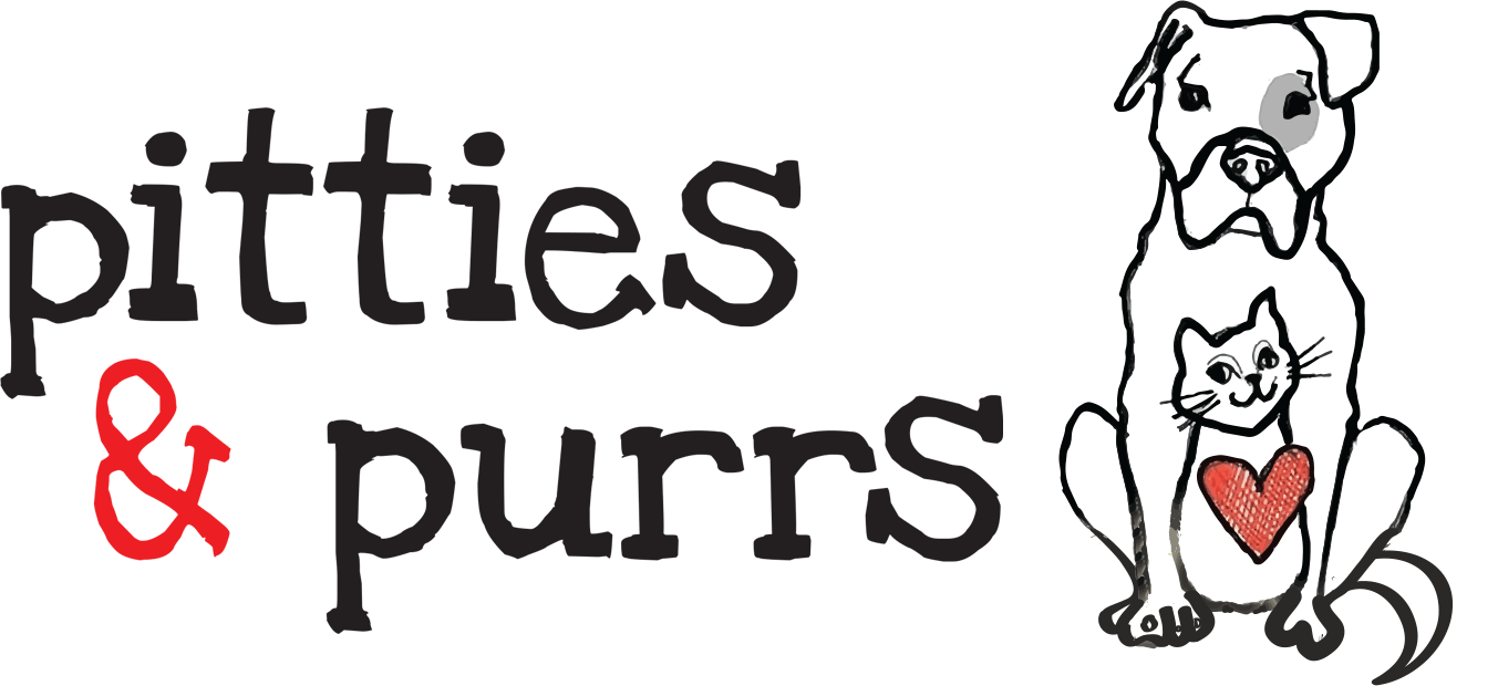Pitties & Purrs company logo