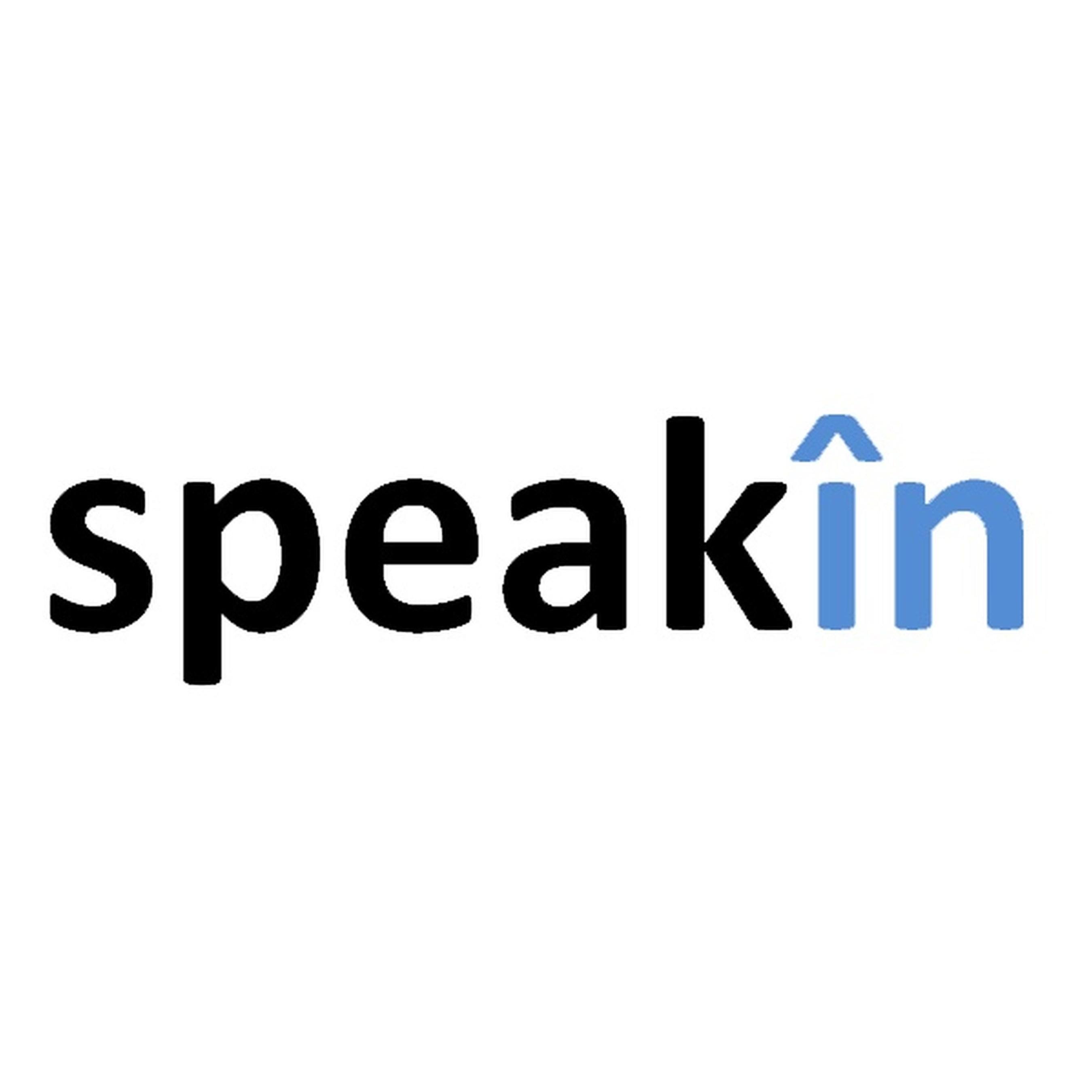 SpeakIn company logo