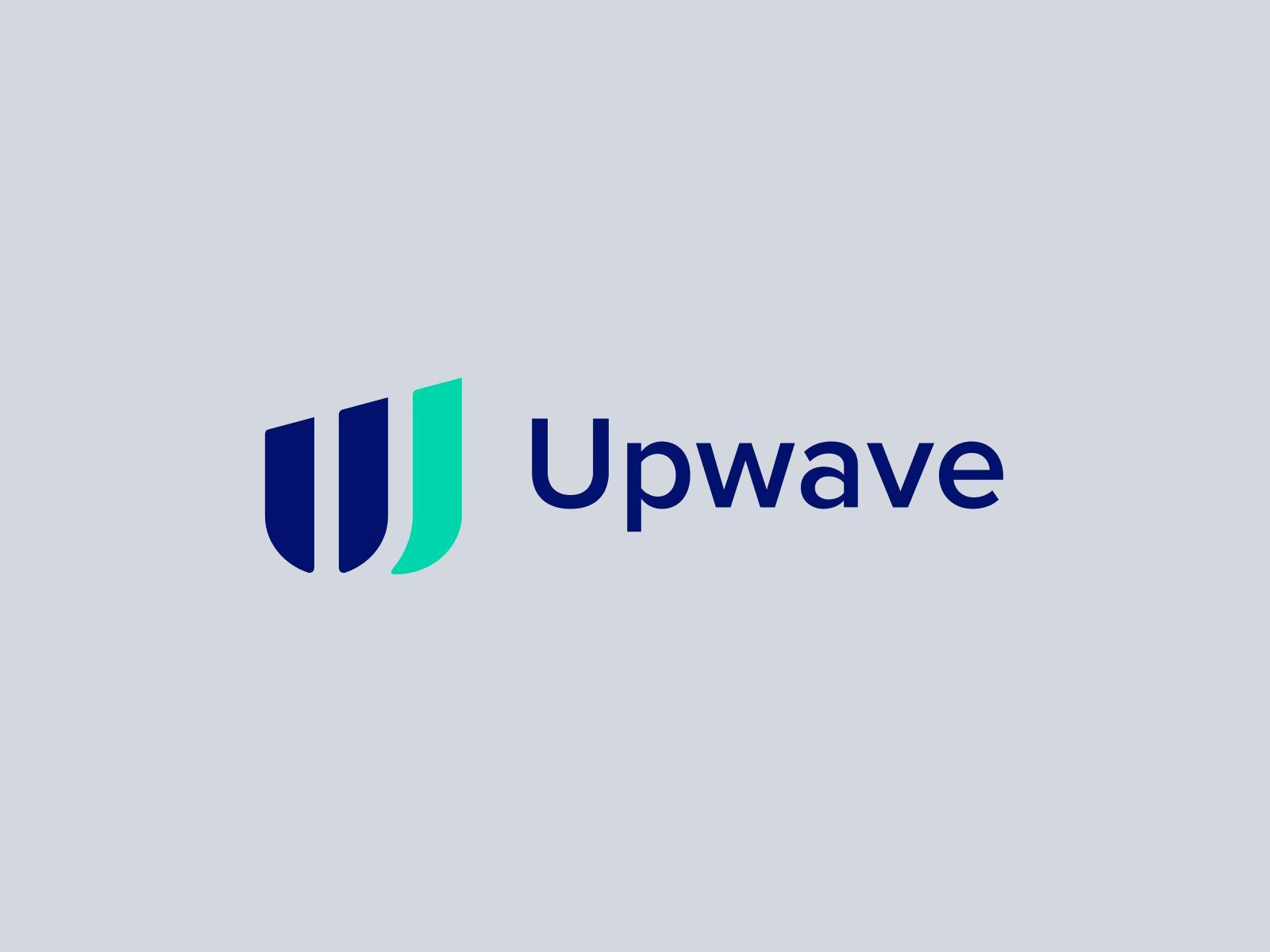 Upwave company logo